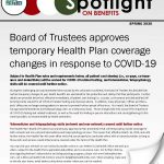 Spring 2020 Issue of Spotlight on Benefits Available Now