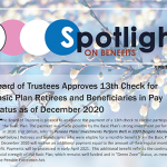 Spring 2021 Spotlight on Benefits Newsletter Available Now
